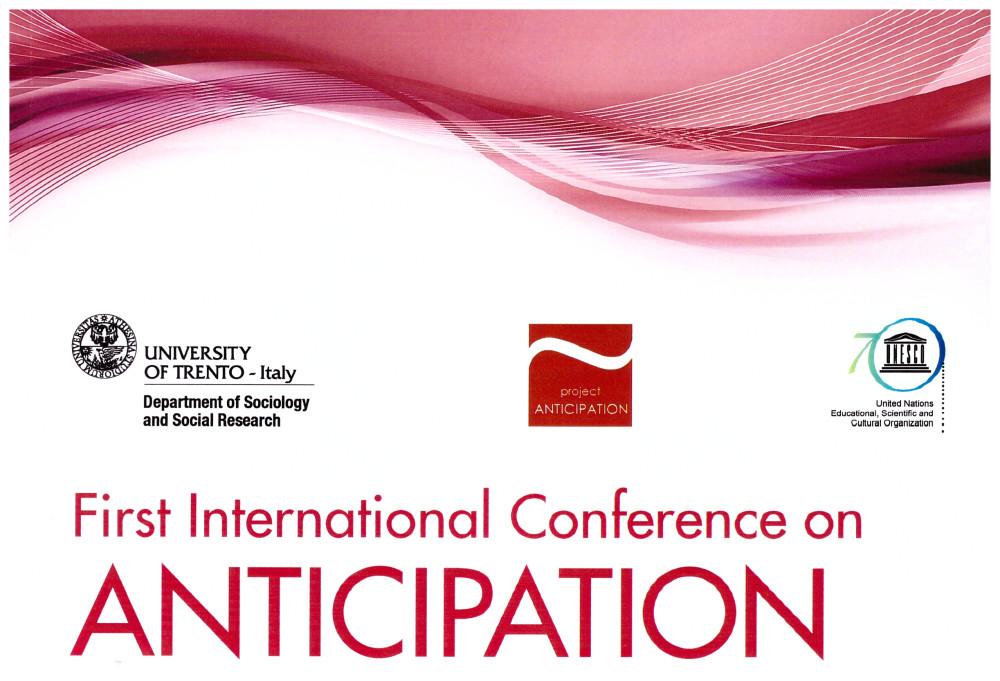 Primo convegno internazionale sull'Anticipazione a Trento