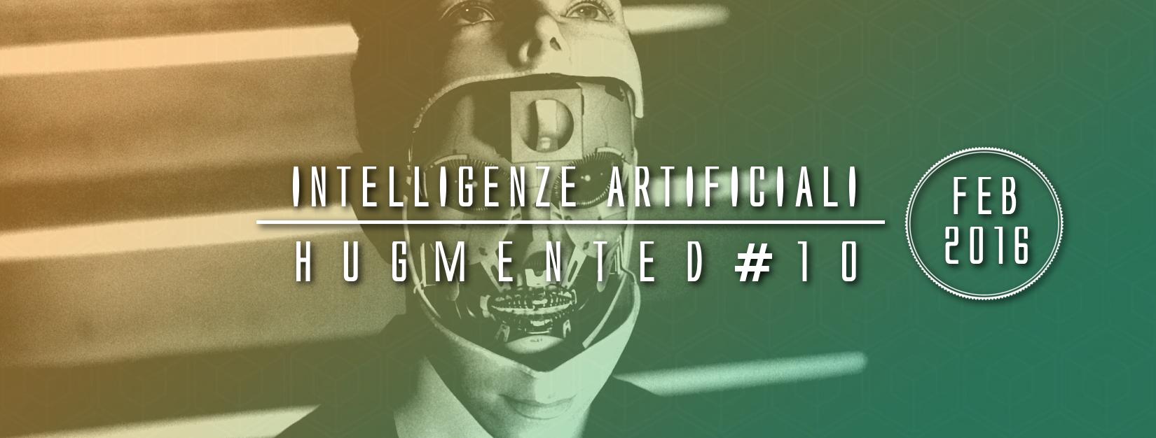 """Intervista sull'intelligenza artificiale sul podcast """"Hugmented"""""""