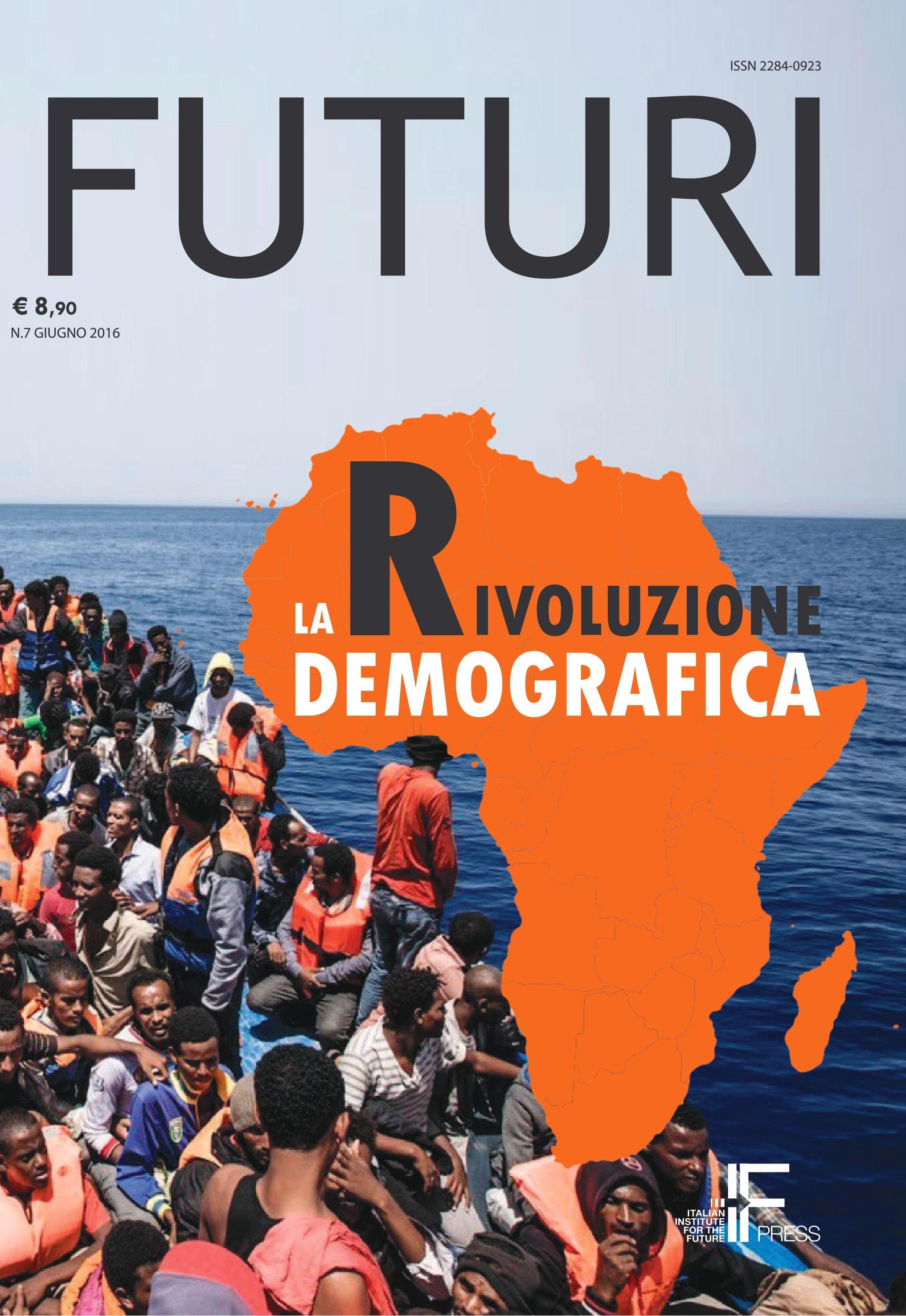 """Il nuovo numero di """"FUTURI"""" è sulla rivoluzione demografica"""
