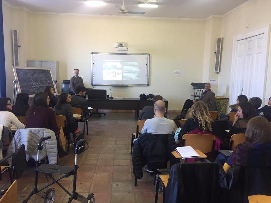 Lezione su scienza, fantascienza e storytelling all'Università Suor Orsola Benincasa