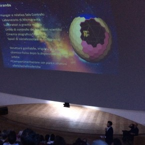 Presentazione del progetto OrbiTecture alla Città della Scienza di Napoli