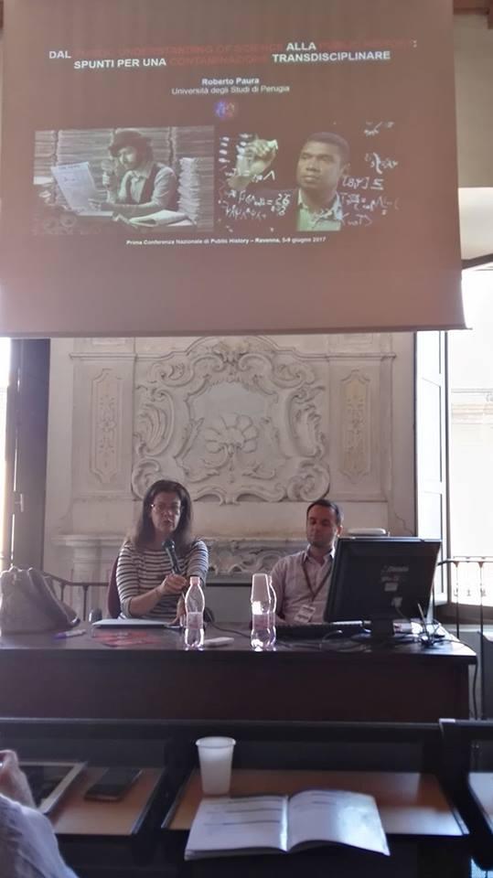 Intervento alla Prima Conferenza dell'Associazione Italiana di Public History
