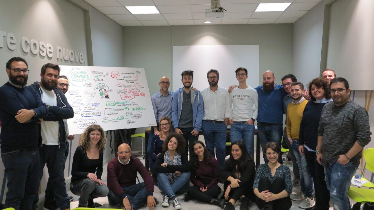 """Il futuro della Campania al workshop """"2035: Fuga dalla Campania"""""""