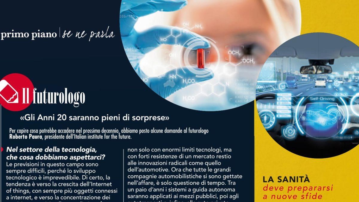 """Intervista sul futuro degli anni Venti su """"Viversani e belli"""""""