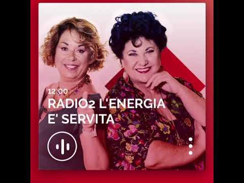 """Intervista a """"L'energia è servita"""" su Rai Radio2"""